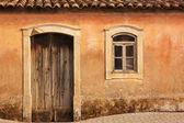 Antique Home Facade — Stock Photo