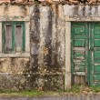 old house facade — Stock Photo