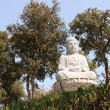 Stock Photo: Marble BuddhStatue