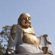 Smile Bronze Buddha - Stock Photo