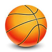 Illustration of basketball — Stock Vector