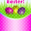 Happy Easter vector card — Stock Vector #9403241