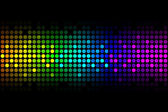 Vector background - colorful lights — Stock Vector
