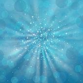Blue shimmering background — Stock Photo