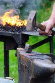 Forging — Stockfoto