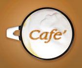 Arte del caffè — Foto Stock
