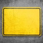Yellow Sign — Stock Photo #10503192