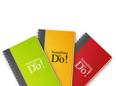 To do notebook — Stockfoto