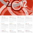 Royalty-Free Stock Photo: New year 2012 Calendar