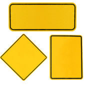Highway road signs — Stock Photo