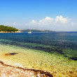 Kerkira, Corfù, Greek, Beach - Stock Photo