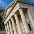 Greek temple in Kerkyra — Stock Photo #10498388