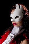 Carnaval masker — Stockfoto