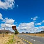 Road through a desolate landscape — Stock Photo #10059237
