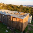 A house in a township in South Africa - Stock Photo