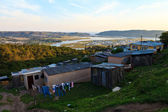 Township in South Africa — Stock Photo