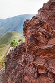 Red rocky stones — Stock Photo