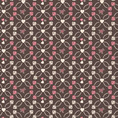 Cute vector seamless pattern — Stock Photo