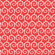 Vector seamless pattern with swirls — Stock Photo