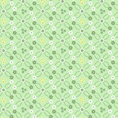 Floral background vector sem emenda — Fotografia Stock