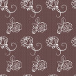 Elegant lace vector pattern — Stock Photo