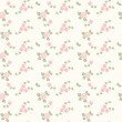 Spring seamless pattern with hearts and roses — Stock Photo