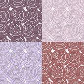 Seamless vector rose pattern — Stock Photo