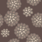 Vector lace floral pattern — Stock Photo