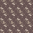 Seamless vector flower pattern — Stock Photo