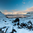 Stock Photo: Winter Fjord, North Iceland