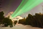 The Northern Lights Aurora — Stock Photo