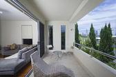 Stylish balcony — Stock Photo