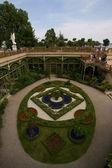 Jardin du palais schwerin mecklembourg - allemagne — Photo