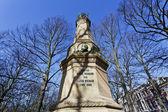 The Hague - monument for K.B. von Saxen Weimar - The Netherlands — Stock Photo