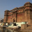 A ROYAL PALACE NEXT TO THE HOLY GANGES RIVER IN VARANASI - INDIA — Stock Photo #8004157