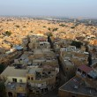 Jaisalmer seen from the fortress, Rajasthan, Norhern India. — Foto de Stock