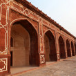 ARCHES OF HUMAYUN&#039;S TOMB IN DELHI - INDIA - Stock Photo