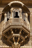 A DETAIL OF THE PATWA-KI HAVELI (MERCHANT HOUSE) IN JAISALMER - RAJASTHAN. — Stock Photo