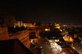The fortress of Jaisalmer (Rajasthan) at night — Stock Photo