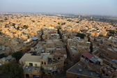 Jaisalmer seen from the fortress, Rajasthan, Norhern India. — Stock Photo