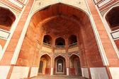 Ingresso della tomba di Humayun a delhi, india — Foto Stock