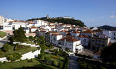VIEW ON THE CITY OF PALMELA WITH CASTLE - SETUBAL - PORTUGAL. — Stock Photo
