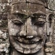 Stock Photo: Giant stone face - Angkor Thom, Bayon, Cambodia