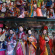 Stock Photo: Chinese puppets in souvenir store in Shanghai - China