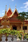 Lao monastery in Vientiane - Laos — Zdjęcie stockowe