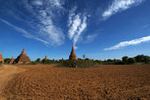View at the archeological site of Bagan - Myanmar | Burma — Stock Photo