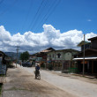 Street in Nyaungschwe - Inle Lake in Eastern Myanmar (Burma) — Stock Photo