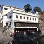 Stairs to temple Pashupatinath - Kathmandu - Nepal — Stock Photo #8331447