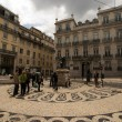 Baixo Chiado - center of Lisbon, Portugal — Stock Photo