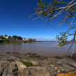 Stock Photo: Rio de lPlatriver in Colonidel Sacramento - Uruguay